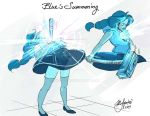 Steven Universe: Blue's Summoning by Rice-Lily