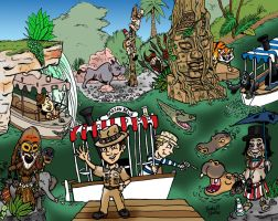 The World Famous Jungle Cruise by brodiehbrockie