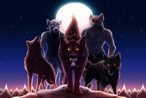 We Are The Wolves by Lunaromon