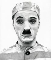 Charlie Chaplin  The Adventurer by TheNightGallery