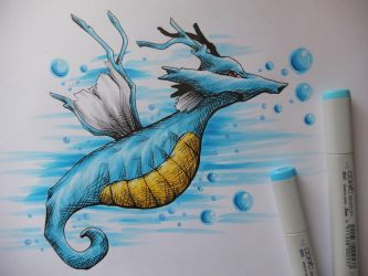 Kingdra by ImmaCatastrophe