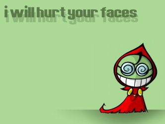 I WILL HURT YOUR FACES. by SelanPike