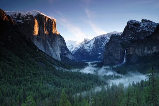 Tunnel View Sunrise by porbital