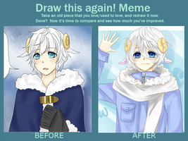 Before and After by Snow-Lantern