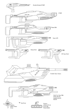 Trinary Union Inf. Weapons 1 by Heavyman