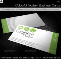 Clean Agency Business Card by HollowIchigoBanki