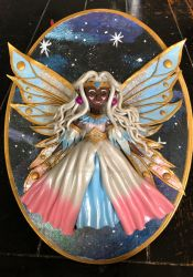 Space Fairy Goddess Allura by ColorfulCupcakez
