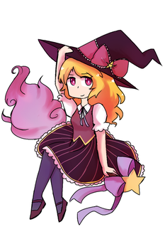 More art of my witch by emilyldraws0303