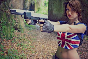 Girl and Guns by combat008