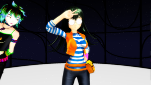 MMD Newcomer: Carly Carmine + DL by artimiss1238