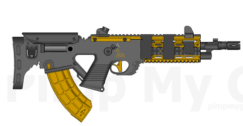 Syndicate's SYB-42 Combat Rifle by ThantosEdge
