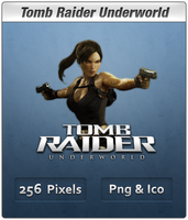 Tomb Raider Underworld Icon 2 by Th3-ProphetMan