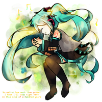 [Hatsune Miku] One Hundred Years of Love by CKaitlyn