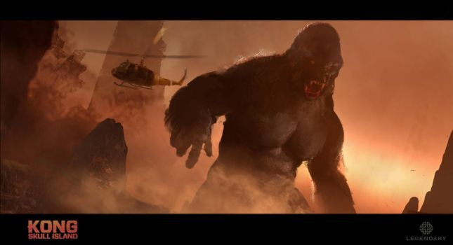 Kong Skull Island: Kong Palette Exploration by Cryptcrawler