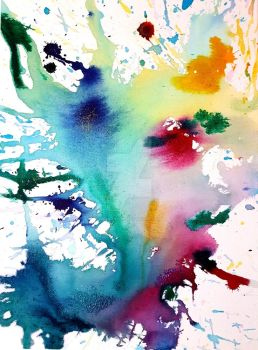Watercolour Explosion by Harmony1965