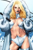 Emma Frost by MooseBaumann