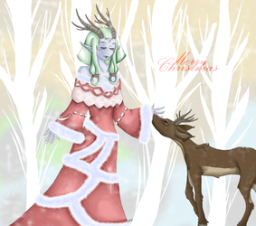 All I want for Christmas by Paperjetpilot