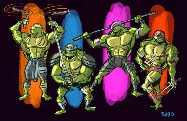 Teenage Mutant Ninja Turtles by BobbyRubio