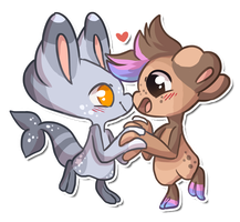 Splicer Chibis by QviCreations