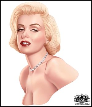 2016  Marilyn Monroe by xeracx