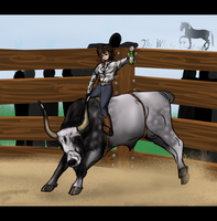 Hungarian Rodeo by The-White-Cottage