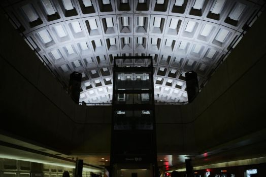 Central Metro Station by UltraSonicUSA