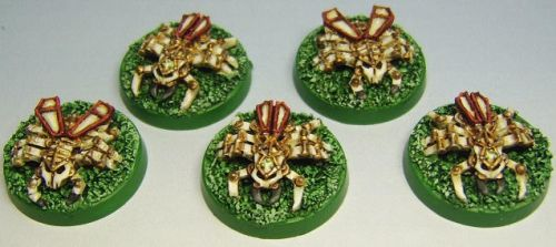 Necron Scarabs by FraterSINISTER
