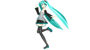 PDAFT Default Miku UPDATED PICTURE  +DL by mikuoHastune