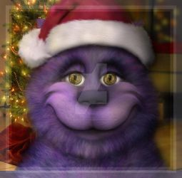 Cheshire Cat Christmas by dreamsofblood
