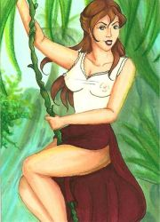 ATC: Jungle Jane Porter by FallenAngelAraya