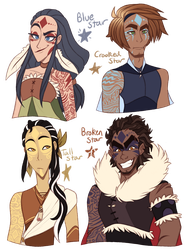 Into the Wild human leaders by TheZodiacLord