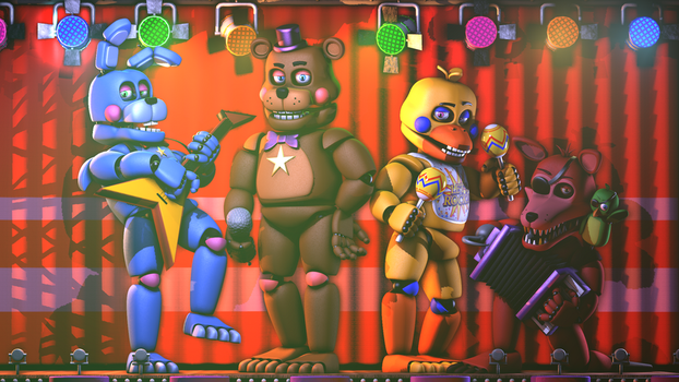 The RockStars [SFM/FNAF] by MemeEver
