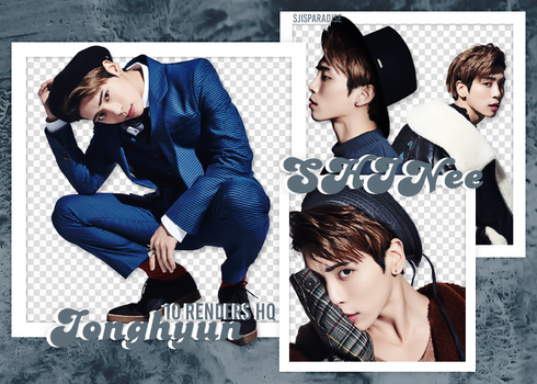 Render Pack | 10 HQ | SHINee | Jonghyun by SJIsParadise