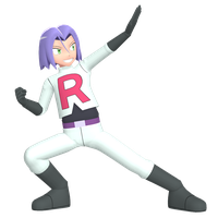 MMD Team Rocket - James Preview by MMDSatoshi