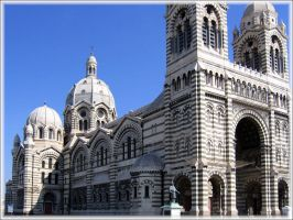 Cathedrale Major Marseille by Starlion