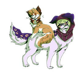 Maxy And Star by Bittter
