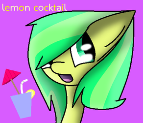 Lemon Cocktail by theshadowpony357