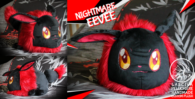 Nightmare Eevee by Peluchiere