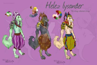 Helez Lysander by monsterownage