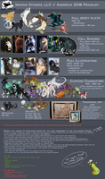 2018 Pricelist (COMMISSIONS are OPEN ) by Aminirus