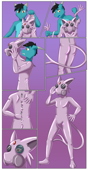 Espeon Drone Suit by DSAPROX