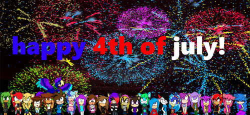 4th Of July Drawing by kizzywolf12