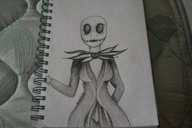 Genderbend Jack Skellington by DreamCatcher1247