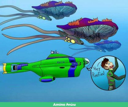 Jacksepticeye and Subnautica Reefbacks by unknownskele
