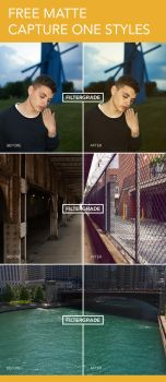 Free Matte Capture One Styles by filtergrade