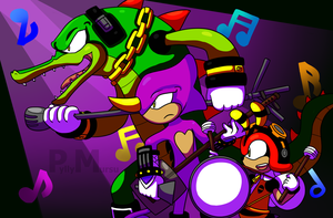 Chaotix Recital by Possumato