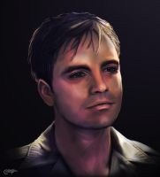 James Buchanan Barnes Portrait by thecannibalfactory
