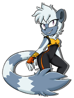 Tangle the Lemur by KaramelOPop