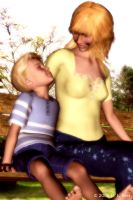 Mother and Son by Zethara
