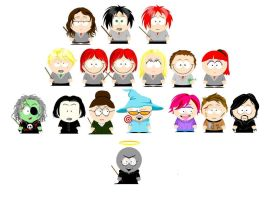 Harry potter vs. south park by snapefanclub